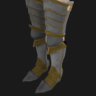 Botas metal cromado
