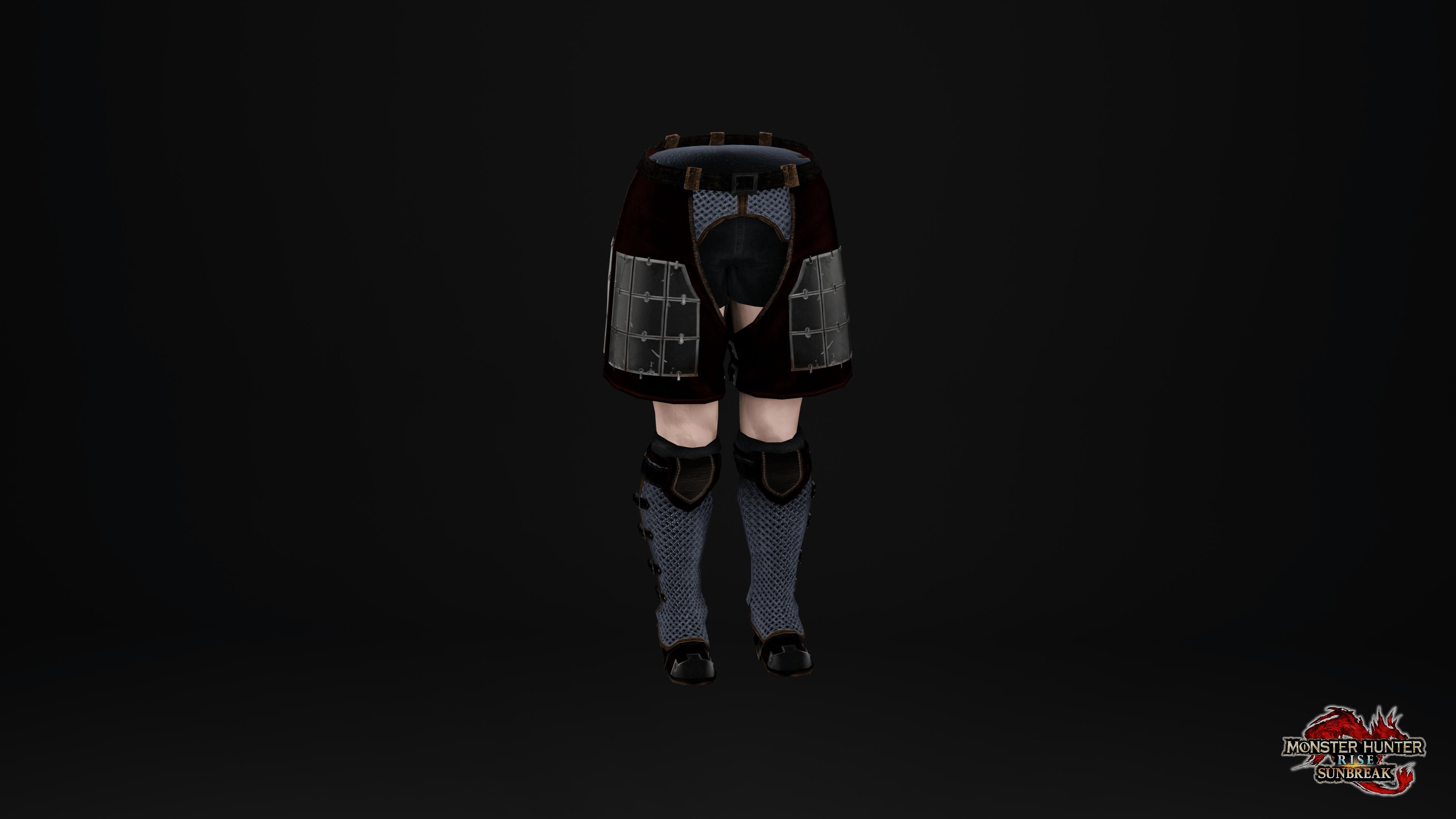 Pantalones de malla