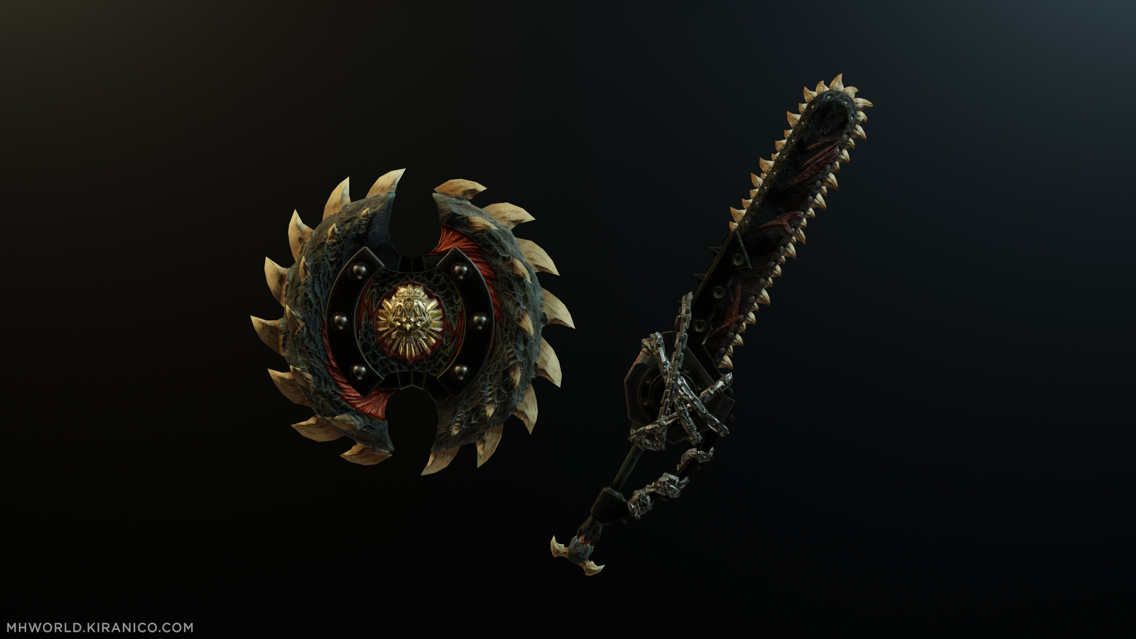 Oppressor's Charge Blade